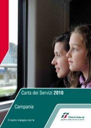 Carta dei Servizi 2010 Campania - Trenitalia