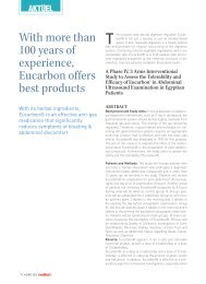 With more than 100 years of experience, Eucarbon offers ... - Trenka