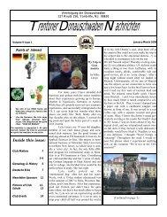 January, 2009 - Trenton Donauschwaben Association