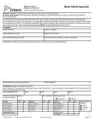 34-1758E Motor Vehicle Appraisal revised August ... - Trent University