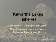 Kawartha Lakes Fishery