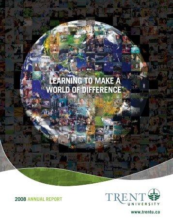 2008 Annual Report - Trent University