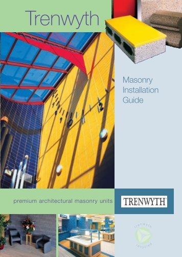Download Installation Guide - Trenwyth Industries