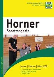 Horner Sportmagazin - trenz ag