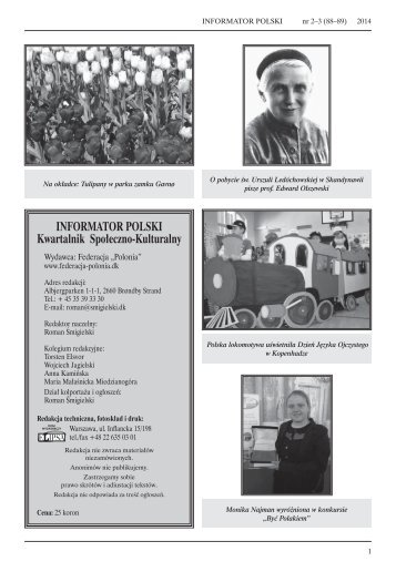 INFORMATOR POLSKI Kwartalnik Społeczno-Kulturalny
