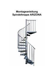 Montageanleitung Spindeltreppe Arizona für den ... - TreppenShop24
