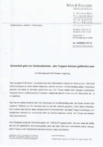 Gutachten Denkmalschutz als PDF