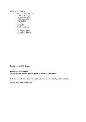 Bauordnung als PDF - Deutsches Institut für Treppensicherheit eV