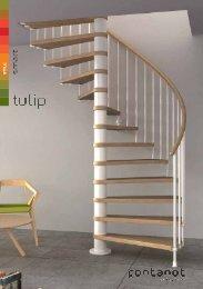 Montageanleitung Spindeltreppe Tulip - TreppenShop24