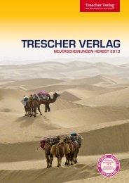Verlagsvorschau Herbst 2013 - Trescher Verlag