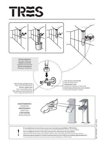 mantenimiento entretien maintenance wartung utrzymanie ... - Tres