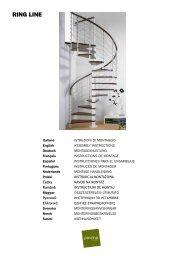 Montageanleitung Pixima Spindeltreppe Ring Line - TreppenShop24