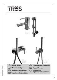 Manual Técnico Manuel Technique Technical Characteristics ... - Tres