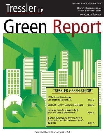 Environment, Energy & Sustainable Development - Tressler LLP