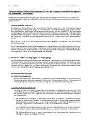 Stadtwerke Treuchtlingen - Stadt Treuchtlingen