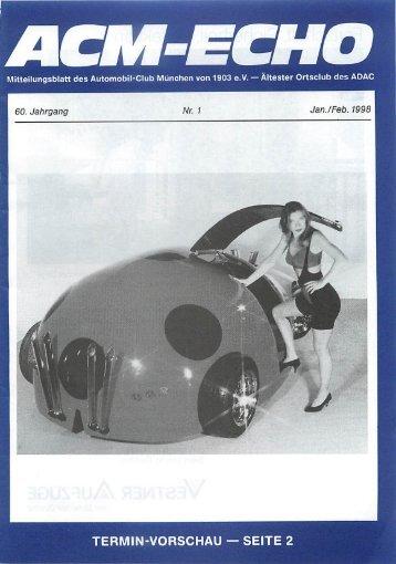 Mitteilungsblatt des Automobil-Club München von1903 e.V. ...