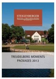 TREUDELBERG MOMENTS PACKAGES 2013 - Steigenberger ...