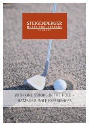 Golf prospect 2013 - Steigenberger Hotel Treudelberg Hamburg