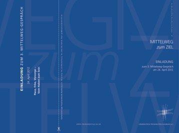 Einladung und Programm 3. Mittelweg-Gespräch - Gemeinnützige ...