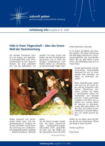 Ausgabe Nr. 8 - Gemeinnützige Treuhandstelle Hamburg e.V.