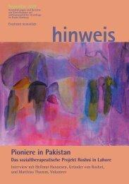 Pioniere in Pakistan - Gemeinnützige Treuhandstelle Hamburg e.V.