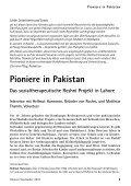 Pioniere in Pakistan - Gemeinnützige Treuhandstelle Hamburg e.V. - Seite 5
