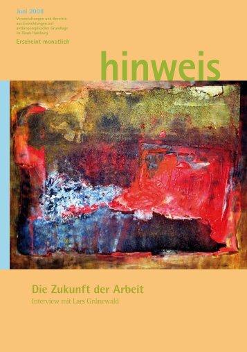 Ausgabe 06/2008 - Gemeinnützige Treuhandstelle Hamburg e.V.