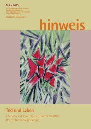Ausgabe 03/2013 - Gemeinnützige Treuhandstelle Hamburg e.V.