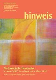 Ausgabe 07/2013 - Gemeinnützige Treuhandstelle Hamburg e.V.