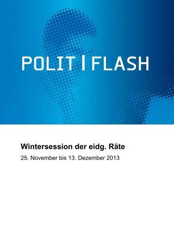 Polit|Flash 04/13 - Schweizerischer Treuhänder-Verband