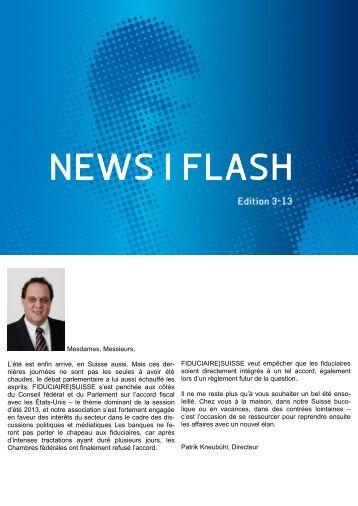 News|Flash - Edition 3-13