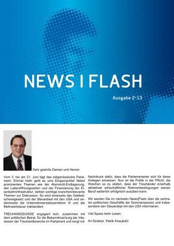 News|Flash - Ausgabe 2-13 - Schweizerischer Treuhänder-Verband