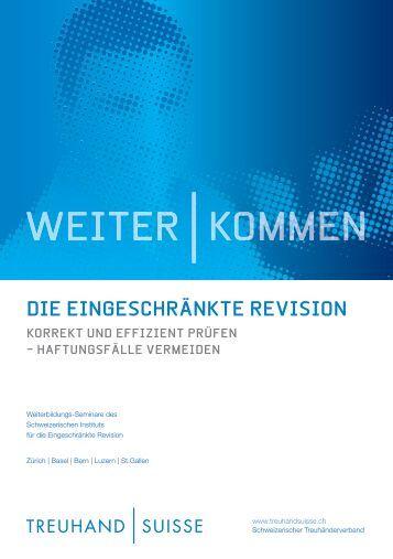 Einladung Seminare [PDF, 1.00 MB] - Schweizerischer Treuhänder ...