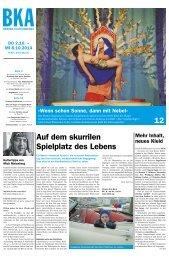 Berner Kulturagenda 2014 N° 40