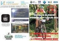 2° TROFEO POLISPORTIVA FOSSALTINA 5 a ... - Treviso MTB