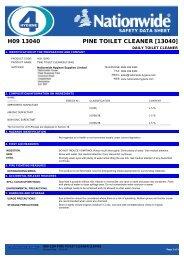 H09 13040 PINE TOILET CLEANER [13040]