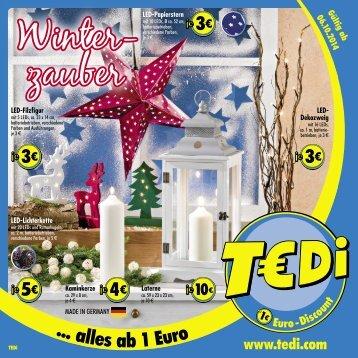 TEDI - Winterzauber 01.10.2014 - DE
