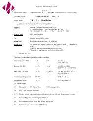 Download Brasso Polish Coshh Sheets System Hygiene Supplies
