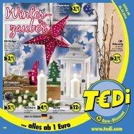 TEDI - Winterzauber 01.10.2014 - A