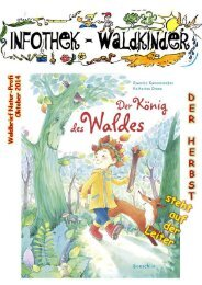 Infothek Waldkinder - Blick in den Oktober Waldbrief