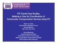 Download Presentation - Transportation Research Forum