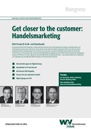 Get closer to the customer: Handelsmarketing