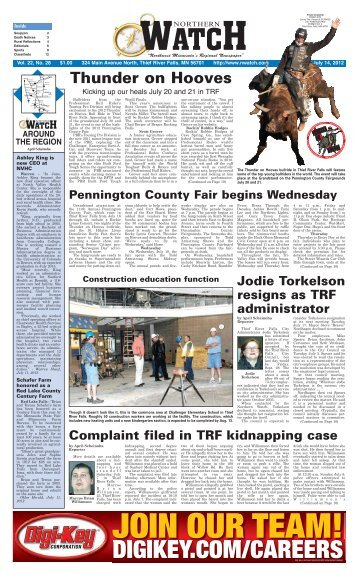 Thunder On Hooves   Thief River Falls Times U0026 Northern Watch