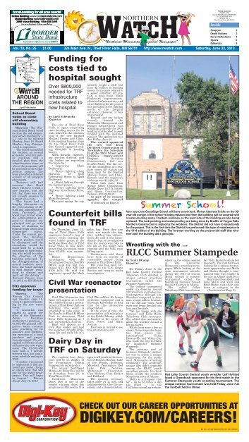The Classifieds   Thief River Falls Times U0026 Northern Watch