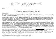 Schulinterner Stoffverteilungsplan - Tilman-Riemenschneider ...