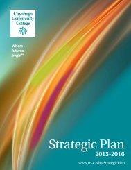 TriC Strategic Plan WEB.pdf - Cuyahoga Community College