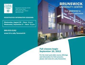 BrunswickBrochure_Fall2012 v3.pdf - Cuyahoga Community College