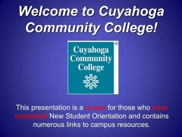 What is Financial Aid? - Cuyahoga Community College