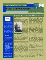 VUB newsletter july10.pdf - Cuyahoga Community College