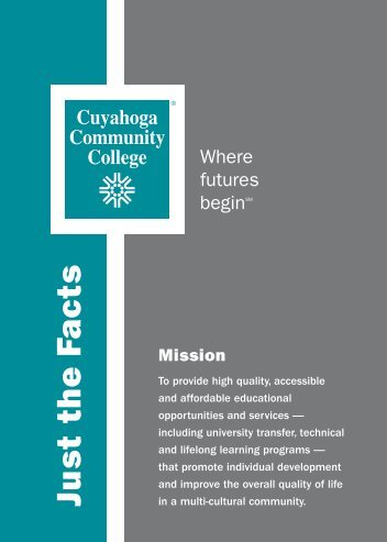 Just the Facts - Cuyahoga Community College